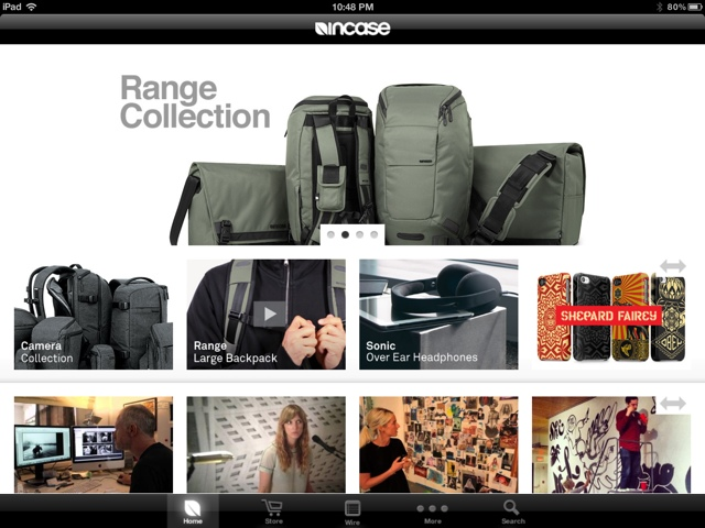 """native"" incase iPad site"